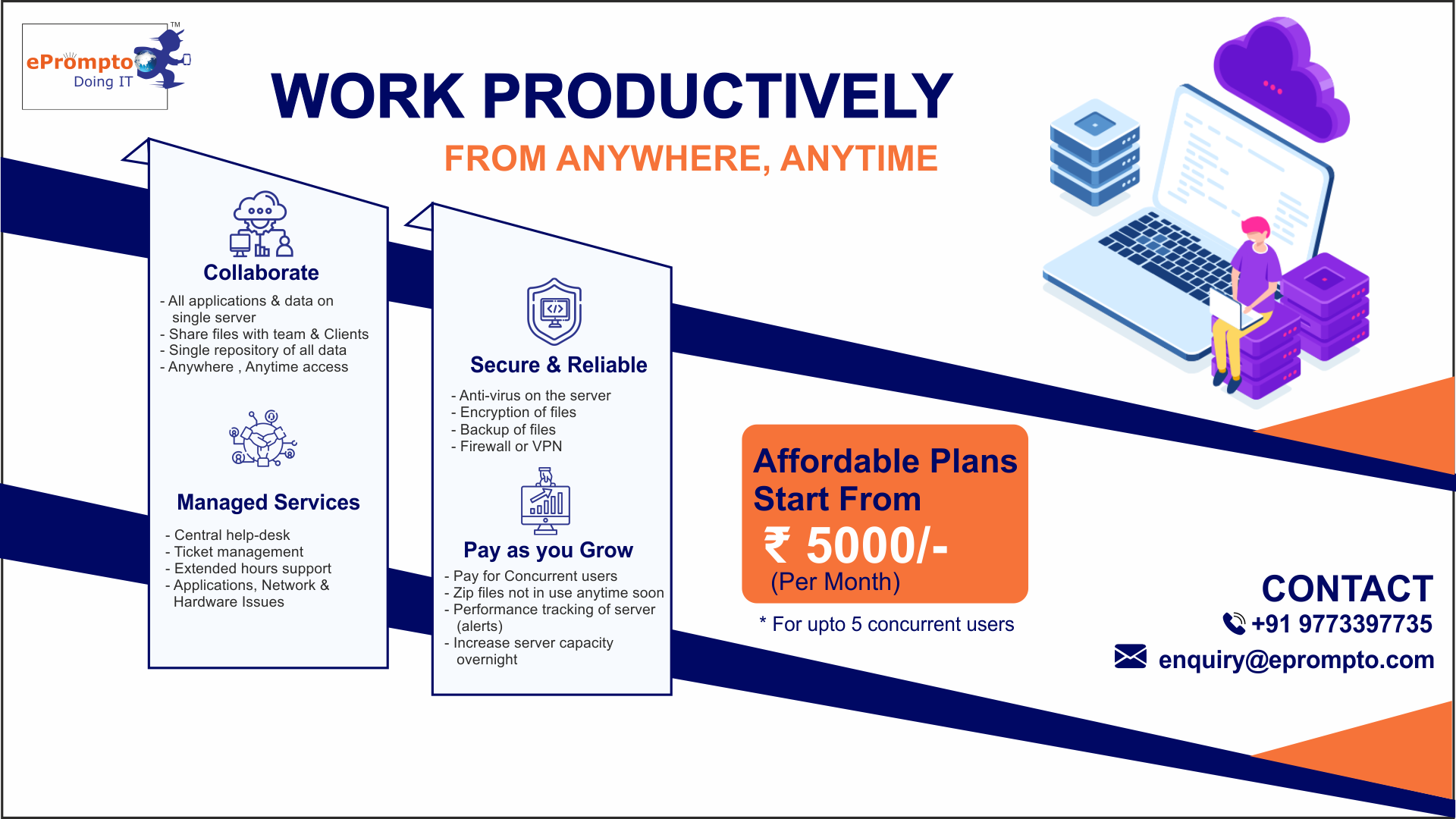 Save More Than 30% Cost On On-premise Server By Migrating To Cloud