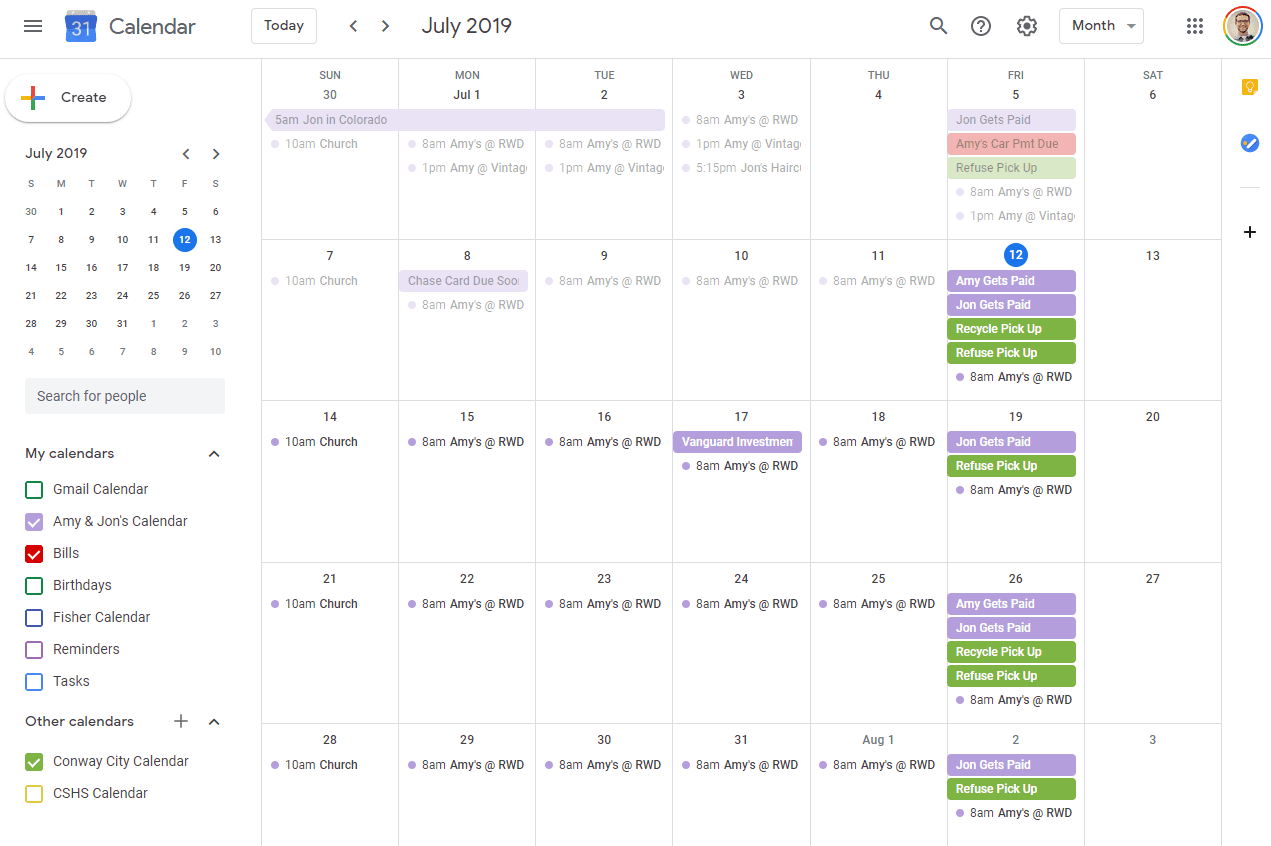 How can you delete one or all google calendar events of your meeting