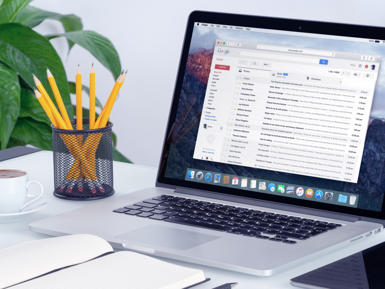 Change or reset your Gmail password from Desktop / Laptop