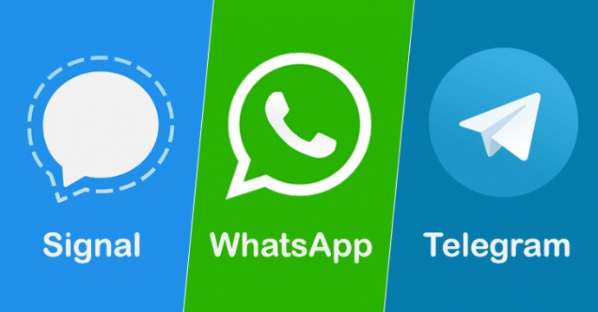 What Data Does Whatsapp/ Whatsapp Business, Telegram & Signal Collect From Your Phone???
