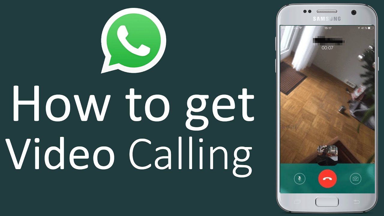 Whatsapp Video Calling- Easy To Use