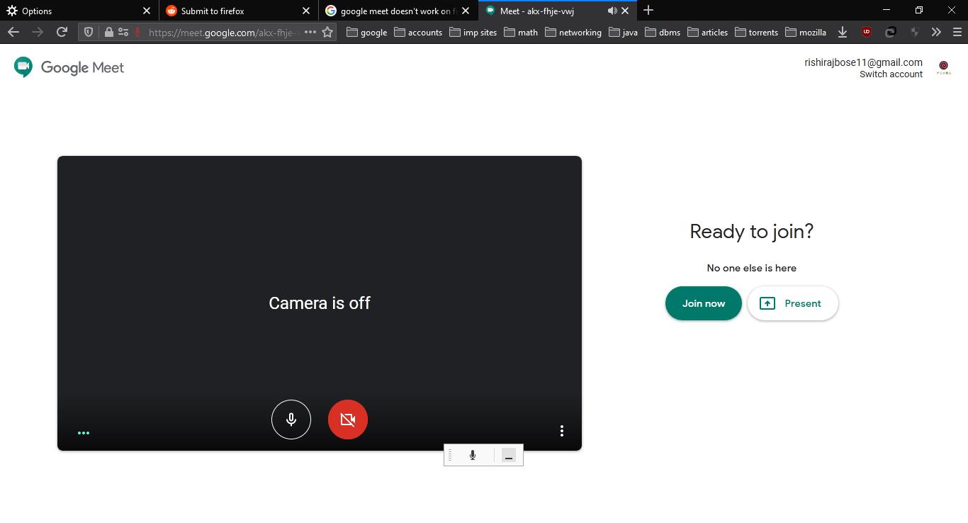 Fix issues of Google Meet Screen Share Not Working on Firefox
